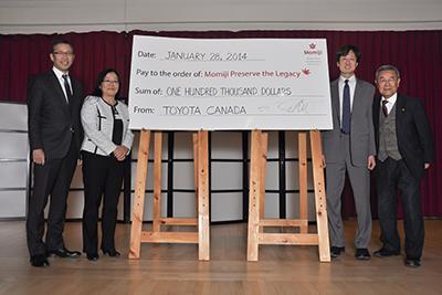 Toyota's $100,000 Donation