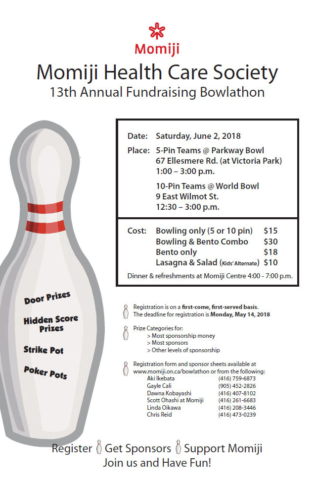 13th Annual Fundraising Bowlathon
