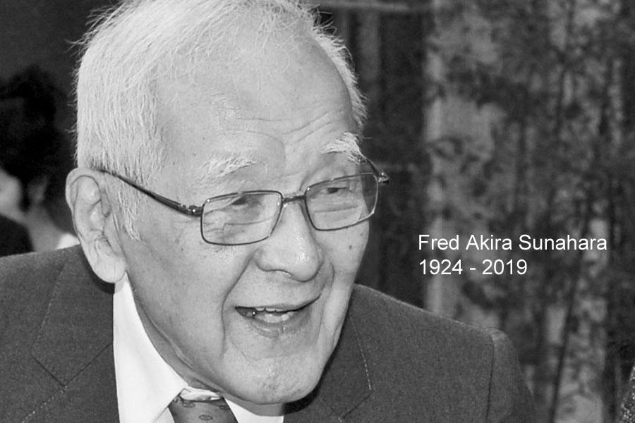 Fred Akira Sunahara 1924 - 2019